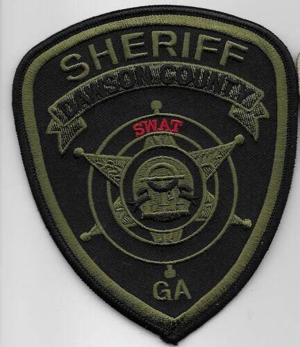 SWAT SRT Dawson County Sheriff GA patch