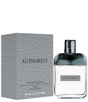 Authority Men By Preferred Fragrances inspired by ZARA RICH LEATHER BY ZARA Men