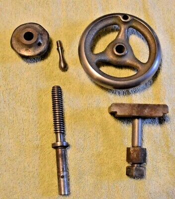 9 Inch South Bend Lathe Tail Stock Parts Handle Screw Clamp
