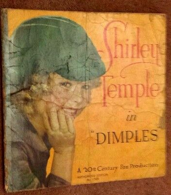 1936 VINTAGE CINEMA PROGRAMME - SHIRLEY TEMPLE in DIMPLES