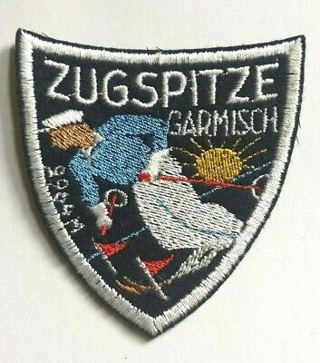 Ski instructor gray color Embroidered PATCH//BADGE