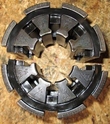 Weatherhead Hydraulic Hose Crimper Die Set T400-64c 58 Collet Set