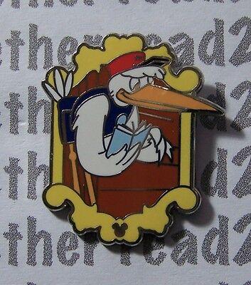 Disney Pin WDW 2012 Hidden Mickey Series Mr. Stork Dumbo