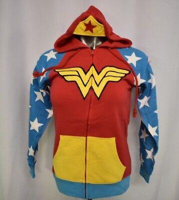 DC Comics Womens Wonder Woman Costume Cosplay Hoodie NWT S](Dc Comics Cosplay)