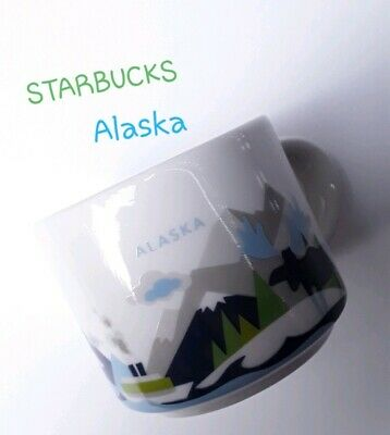 Starbucks ALASKA 2 oz Demitasse Cup You Are Here Mug