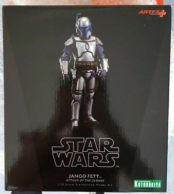 KOTOBUKIYA 1/10 SCALE STAR WARS 'JANGO FETT FIGURE ATTACK OF THE CLONES  SW83