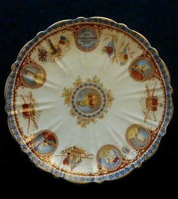 Blairs Edward VII Coronation Plate 1902