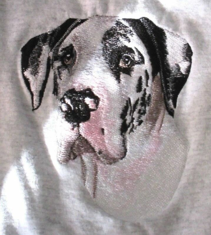Embroidered Fleece Jacket - Great Dane BT3109 Sizes S - XXL