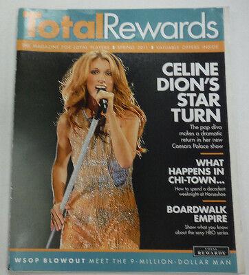 Total Rewards Magazine Celine Dion Caesars Palace Spring 2011 102814R