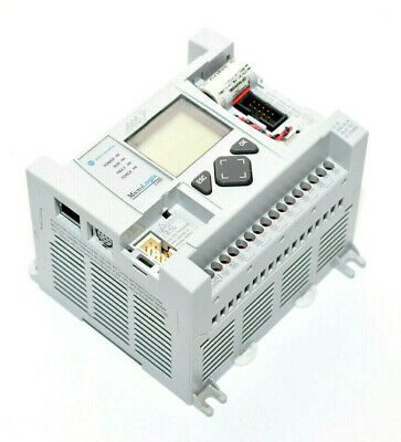 Allen Bradley 1763-l16bwa Micrologix 1100 -dc In Analog In Relay Out Ac Power