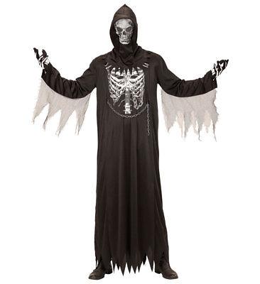 Sensenmann Kostüm Skelett für Kinder Der Tod Halloween - Der Sensenmann Halloween Kostüm