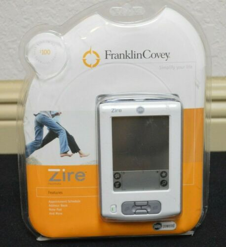 Palm M150 Zire PDA Palm Pilot Brand New in Box FranklinCovey Edition