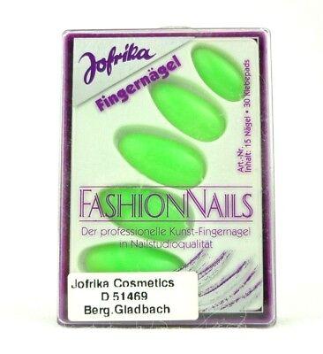 Jofrika 16817 Fashion Nails künstliche Fingernägel neon grün