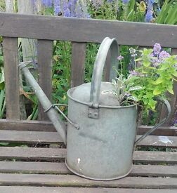Vintage Watering Can Herb Planter