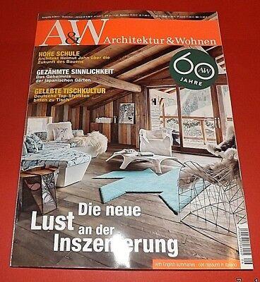 A&W Architektur und Wohnen 6/2017 Dezember-Januar Schatzhäuser ungelesen