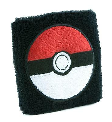 Pokeball Pokemon Go Wristband Sweatband Alternative Gamer Clothing Gotta Catch