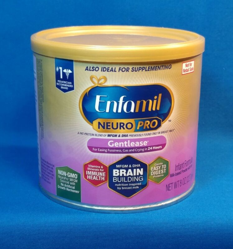 24 Cans Enfamil NeuroPro Gentlease Infant Formula ~ Mixed Dates ~ LOT of 24 Cans