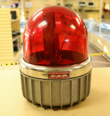 Vintage Commander Federal Signal Light 371 Look Free Shipping