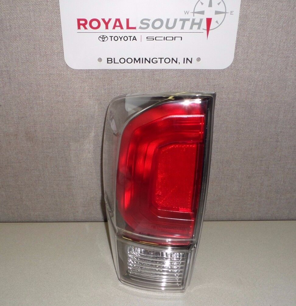 toyota tacoma 2016 2017 limited left rear tail light genuine oem oe. Black Bedroom Furniture Sets. Home Design Ideas