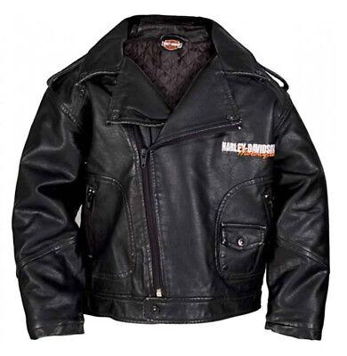 Harley-davidson Baby Boys' Upwing Eagle Biker Pleather