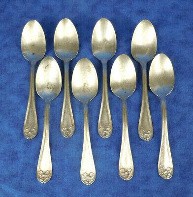 Extra Plate Original Rogers Sugar Spoon in the Magnolia Pattern Co ROGERS Mfg. Vintage Silverware by WM