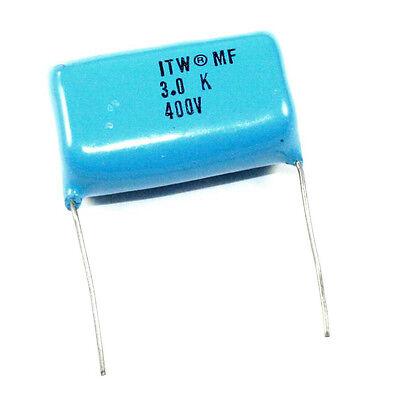 3f 400vdc Polypropylene Capacitor - Lot Of 5 Pp30