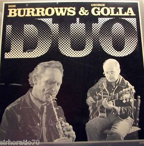 DON-BURROWS-GEORGE-GOLLA-Duo-OZ-LP-JAZZ-1975