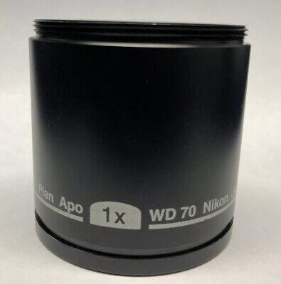 Nikon Plan Apo 1x Objective Wd70 Smz 800 1000 1500 Stereo Dissecting Microscope