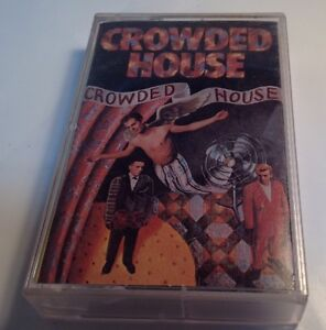 CROWDED-HOUSE-tape-cassette-SELF-TITLED-ALBUM-1986-Capitol-records
