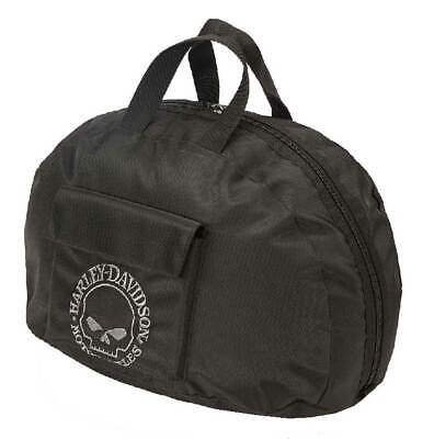 Harley-Davidson Willie G Skull Half Helmet Carry Bag Water-Resistant 99427-BLACK