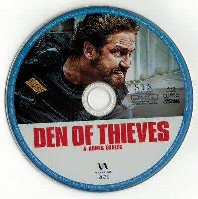 Den of Thieves (Blu-ray disc) Gerard Butler, Pablo Schreiber](Daniel Radcliffe Halloween)