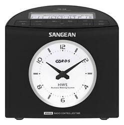 Sangean RCR-9 AM/FM-RDS Digital Tuning Atomic Clock Radio (Black)