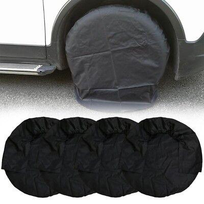 """4x 21"""" Radabdeckung Reifenabdeckung Radschutzhülle für Auto Wohnmobil Anhänger"""