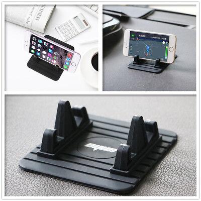 Plus Phone Cradle - Silicon Pad Dash Mount Phone Car Holder Cradle for iPhone 7 & 7 Plus, Samsung S8