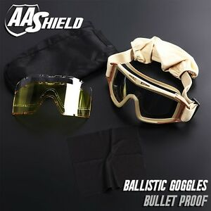 AA-SHIELD-Bullet-Proof-Ballistic-Goggles-Mask-Military-Tactical-Assault-3-Lenses