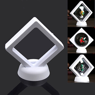 - Plastic Display Stand Holder Jewelry Ring Pendant PET Membrane Case Protect Box