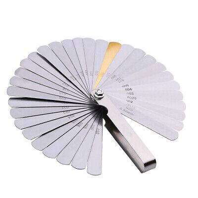 32 Spalte (32 Blatt Fühlerlehre Ventillehre Fühllehre 0,04-0,88 mm Spaltmass Abstandslehre)