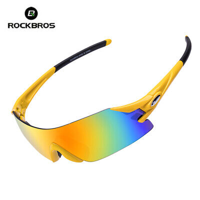 ROCKBROS Cycling Glasses Bicycle Bike Goggles Fishing Running Sunglasses (Running Goggles)
