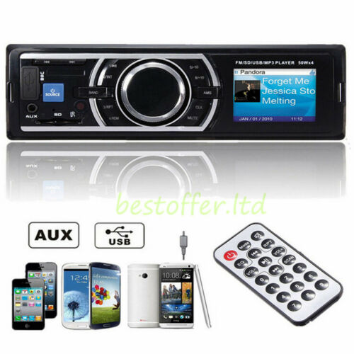 $12.94 - Car Stereo In-Dash Player MP3 / USB /SD/ AUX / FM / iPod / iPhone Non CD US DVD