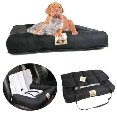 2 IN 1 Pet Dog Cat Bed Car Seat Cover Soft Mat Detachable Washable Winter Warm  Dog Cat Pet Bed Car