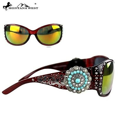 SGS-3204 Montana West Concho Collection Sunglasses, Great Buy - Multiple (Bargain Sunglasses)