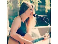 Singer/Songwriter available for gigs