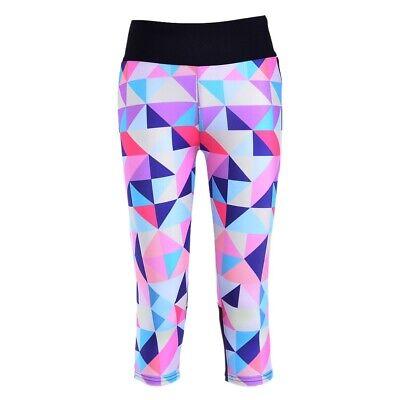 Leggings,Laufhose,Teight,Glanzhose,Caprihose,Nylonhose,Gymnastikhose,Fahrradhose - Capri Leggings Nylon