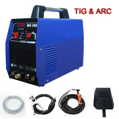 220v 200a Dc Inverter Tig Arc Stick Mma Welding Machine Steel Welder Wargon