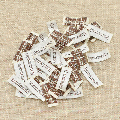 Handmade Woven Label Garment Tags Fabric Making Accessories Sewing -