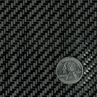 Carbon Fiber Fabric 3k 5.7oz. X 50 2x2 Twill Weave 284- 10 Yard Roll