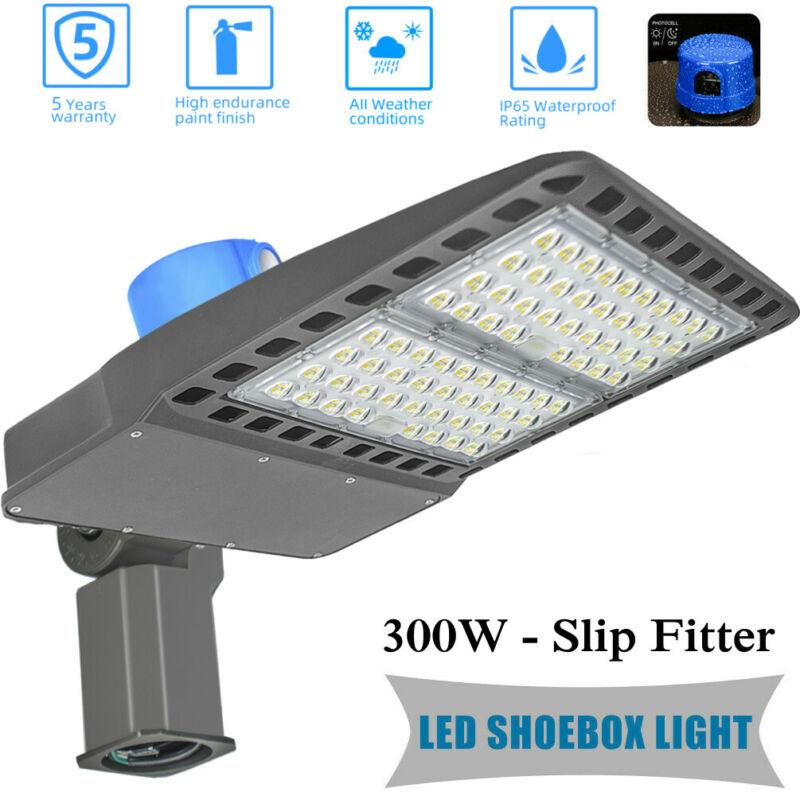 300Watt Commercial Light Street Area Lighting Outddoor Shoebox Pole Light 5500k
