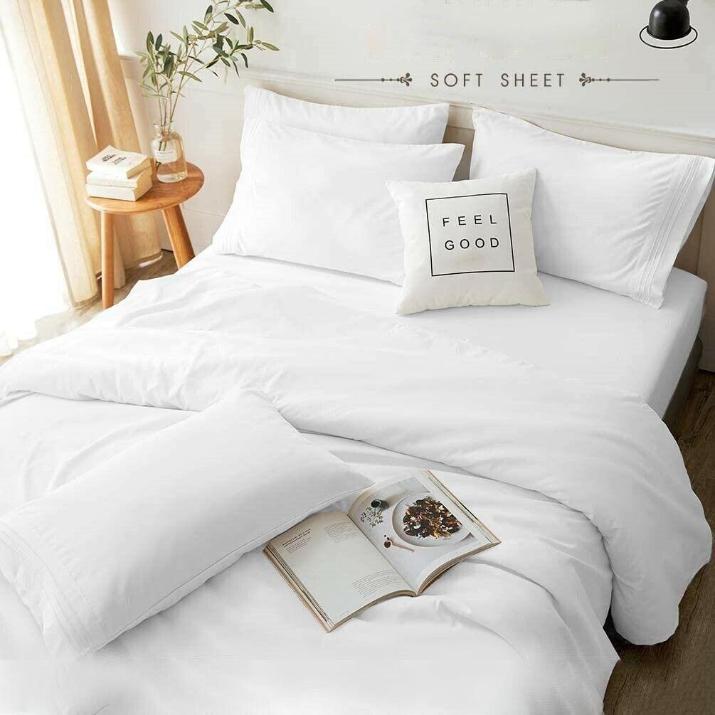 🥇Egyptian Comfort Premium 1800 Series 4pc Deep Pocket Coo