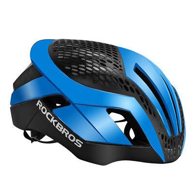 072e8e81dc5 RockBros MTB Road Bike Cycling 57cm-62cm EPS Integrally Helmet 3 in 1 Blue