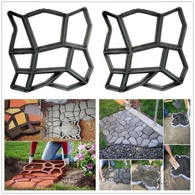 Driveway Walkway Paver Mold Stone Pavement Concrete DIY Building Materials Mould